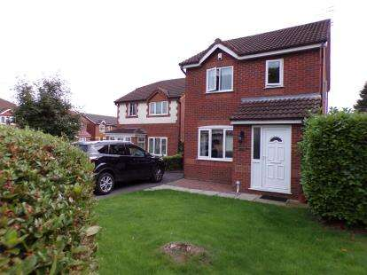 3 Bedrooms Detached House for sale in Foxglove Avenue, Halewood, Liverpool, Merseyside, L26