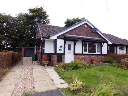 2 Bedrooms Bungalow for sale in Rectory Gardens, Westhoughton, Bolton, Greater Manchester, BL5