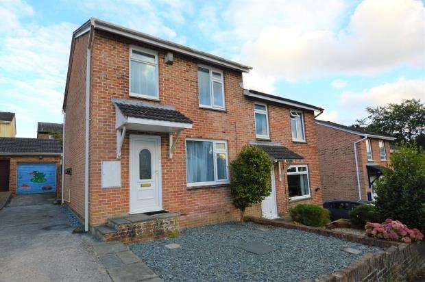 3 Bedrooms Semi Detached House for sale in Maddock Close, Plymouth, Devon