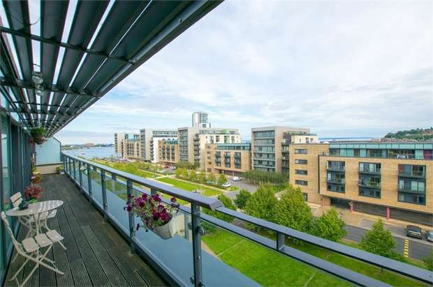 2 Bedrooms Flat for sale in Great Ormes House, Ferry Court, Cardiff