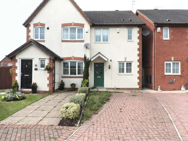 2 Bedrooms Semi Detached House for sale in Barnes Close, Kirkby
