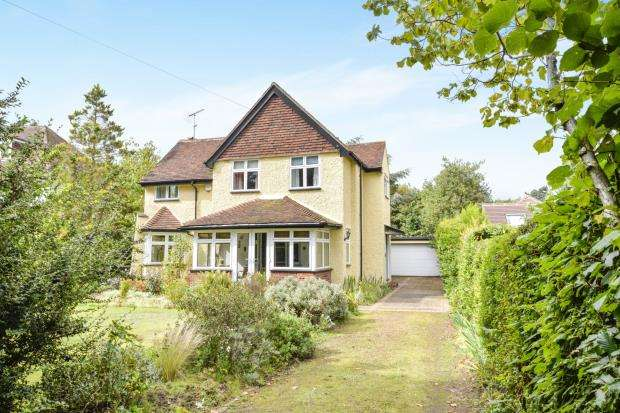 5 Bedrooms Detached House for sale in Woodham, Addlestone, Surrey