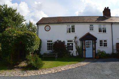 4 Bedrooms End Of Terrace House for sale in Tamhorn Farm Cottage, Fisherwick, Whittington, Lichfield
