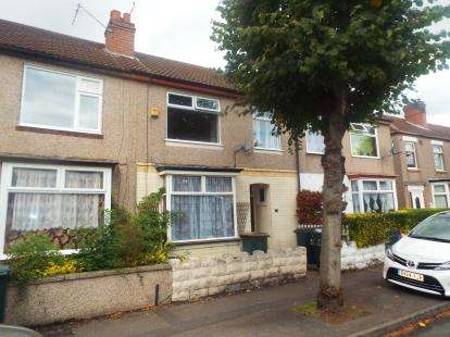 3 Bedrooms Terraced House for sale in Lindley Road, Coventry, West Midlands