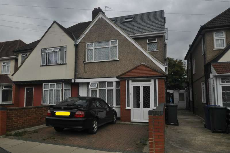 6 Bedrooms Semi Detached House for sale in Oakwood Avenue, Southall, UB1