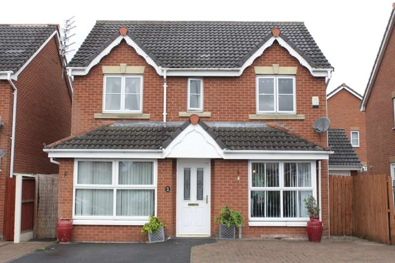 4 Bedrooms Detached House for sale in Stirling Lane, Liverpool, Merseyside, L25