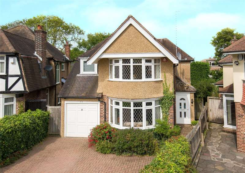 4 Bedrooms Detached House for sale in The Ridgeway, Stanmore, HA7