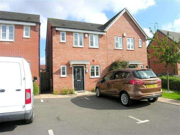 2 Bedrooms Semi Detached House for sale in Phil Collins Way, Old Arley