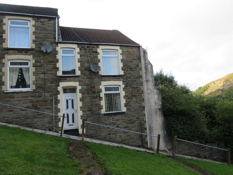 3 Bedrooms End Of Terrace House for sale in Upper Cross Street, Tirphil, New Tredegar