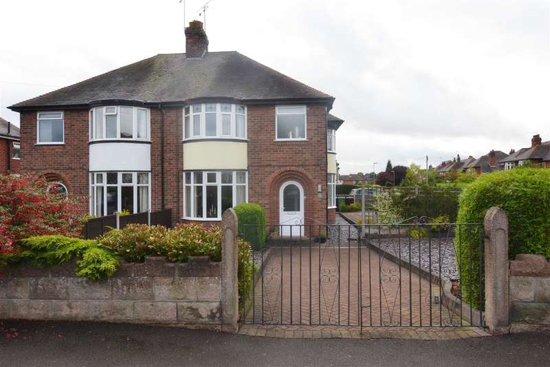 3 Bedrooms Semi Detached House for sale in Kingsley Road, Stafford