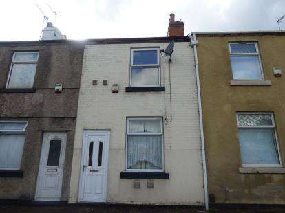 2 Bedrooms Terraced House for sale in Portland Street, Mansfield, Nottinghamshire