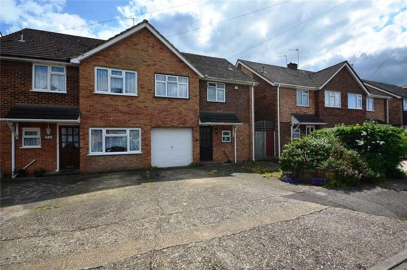 3 Bedrooms Semi Detached House for sale in Bellamy Close, Ickenham, Uxbridge, Middlesex, UB10
