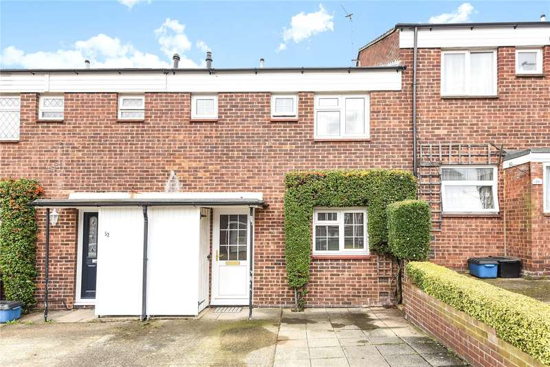 3 Bedrooms Terraced House for sale in Meadow Road, Bushey, WD23
