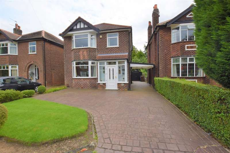 3 Bedrooms Detached House for sale in Oaklands Avenue, Cheadle Hulme