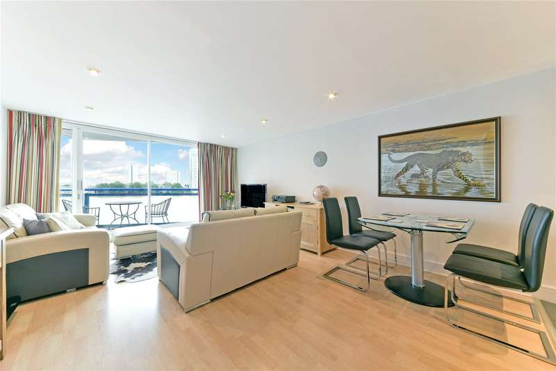 2 Bedrooms Flat for sale in Apollo Building, 1 Newton Place, London, E14