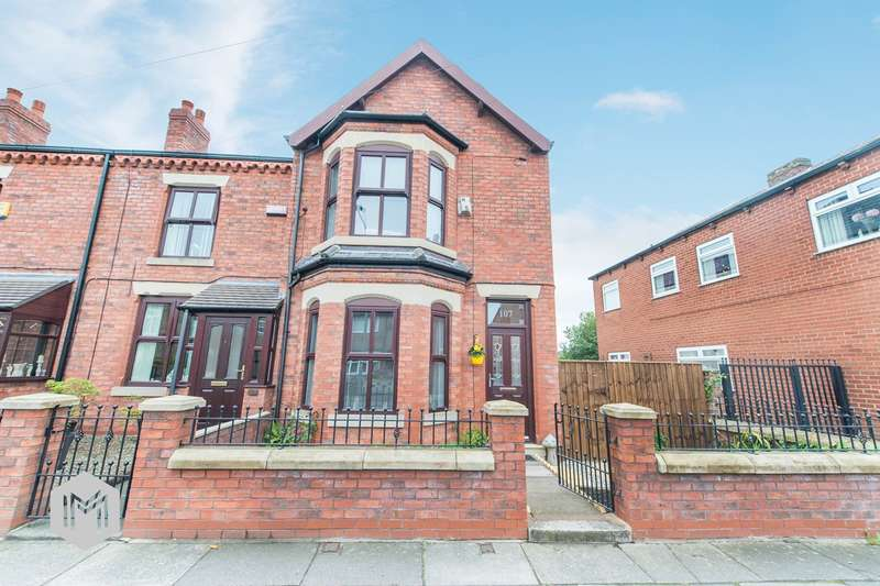 2 Bedrooms End Of Terrace House for sale in Warrington Road, Abram, Wigan, WN2