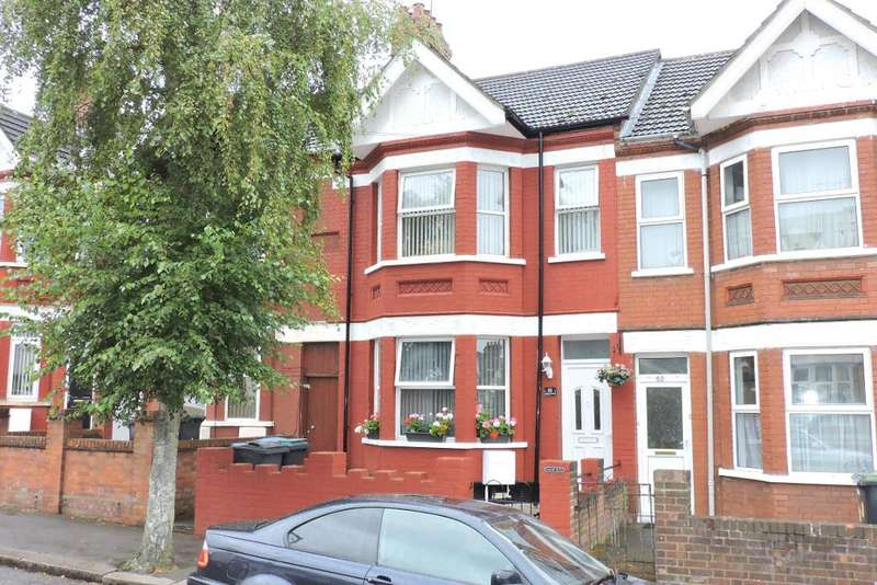 3 Bedrooms Terraced House for sale in Kenilworth Road, Luton, Bedfordshire, LU1 1DQ