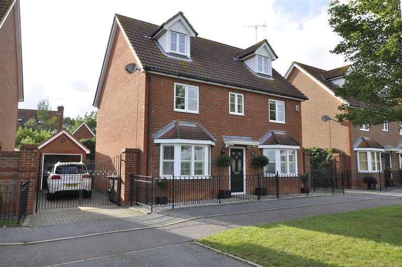 5 Bedrooms Detached House for sale in Partridge Avenue, Chelmsford