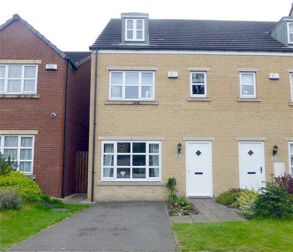 3 Bedrooms Town House for sale in Lambrell Avenue, Kiveton Park, Sheffield