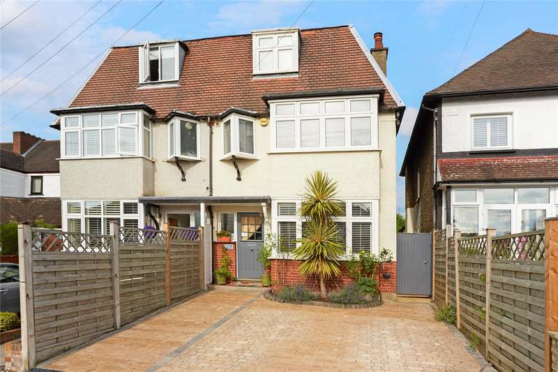 4 Bedrooms Semi Detached House for sale in Salisbury Road, Carshalton Beeches, Surrey, SM5
