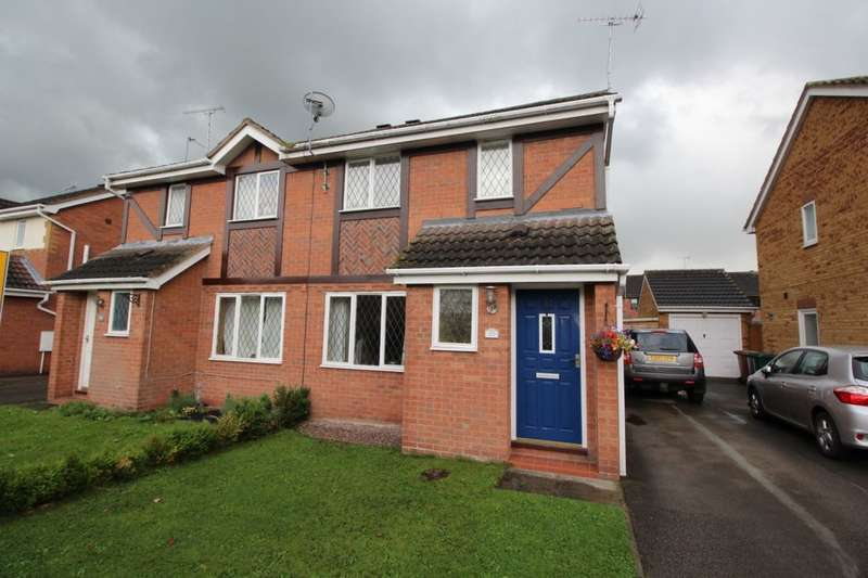 3 Bedrooms Semi Detached House for sale in Hassall Road, Hatton, Derby, DE65