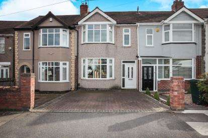 3 Bedrooms Terraced House for sale in Lincroft Crescent, Coventry, West Midlands