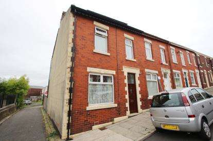 3 Bedrooms End Of Terrace House for sale in Pritchard Street, Infirmary, Blackburn, Lancashire, BB2