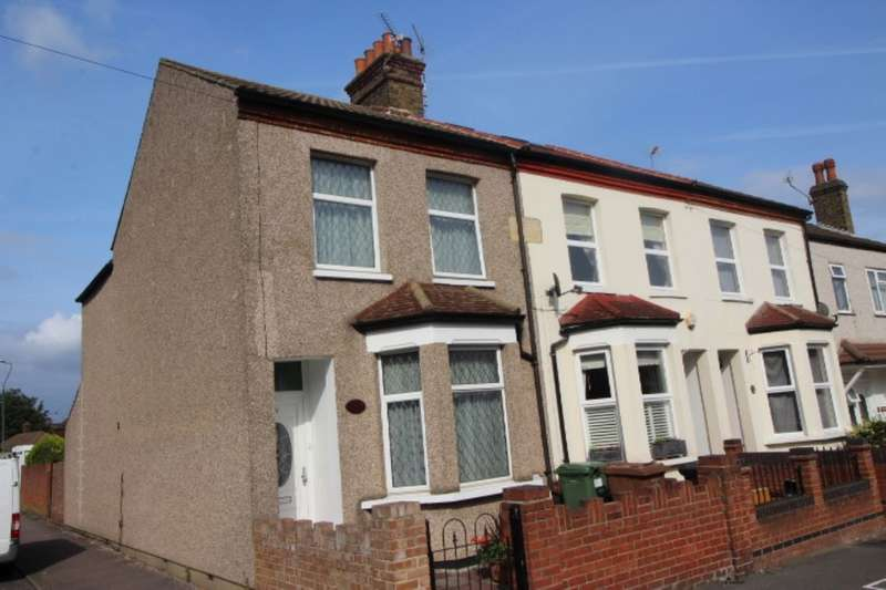 2 Bedrooms Semi Detached House for sale in Barnfield Road, Belvedere, DA17
