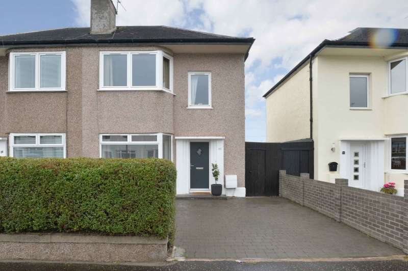3 Bedrooms Semi Detached House for sale in Hermitage Park, Leith Links, Edinburgh, EH6 8HA