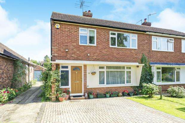 3 Bedrooms Semi Detached House for sale in Jacob's Well, Guildford, Surrey