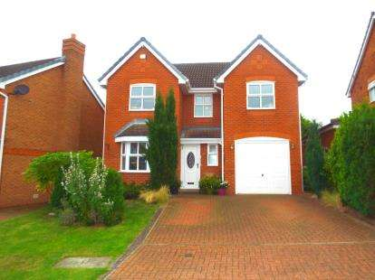 4 Bedrooms Detached House for sale in Mossdale Close, Great Sankey, Warrington, Cheshire