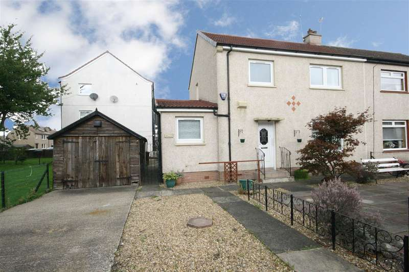 3 Bedrooms Semi Detached House for sale in Smallburn Place, Falkirk