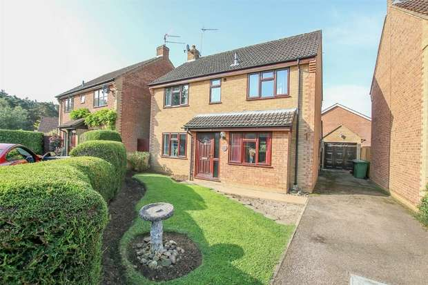 4 Bedrooms Detached House for sale in 6 Melford Close, South Wootton