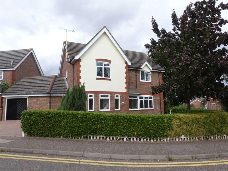 4 Bedrooms Detached House for sale in Nash Drive, Chelmsford