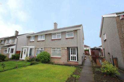 3 Bedrooms Semi Detached House for sale in Ralston Path, Glasgow, Lanarkshire