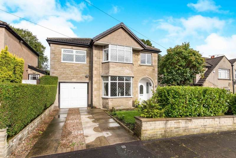 4 Bedrooms Detached House for sale in Woodland Crescent, Bradford, West Yorkshire BD9 6PE