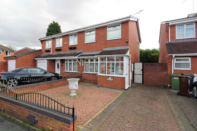 2 Bedrooms Semi Detached House for sale in Hawkswell Drive, Willenhall
