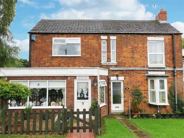 3 Bedrooms Semi Detached House for sale in Station Road, Hubberts Bridge, Boston, Lincolnshire