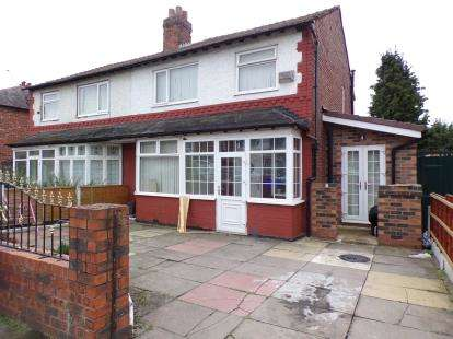 4 Bedrooms Semi Detached House for sale in Kings Road, Chorlton Cum Hardy, Manchester