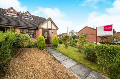 2 Bedrooms Semi Detached House for sale in Quarry Pond Road, Worsley, Greater Manchester, England