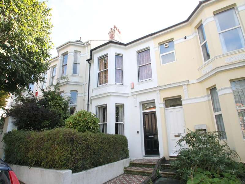 2 Bedrooms Terraced House for sale in Mutley