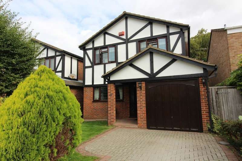 4 Bedrooms Detached House for sale in Hilborough Way, Farnborough, Kent, BR6 7EN