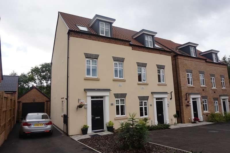 3 Bedrooms Semi Detached House for sale in Jasper Tudor Crescent, Llanfoist, Abergavenny, NP7