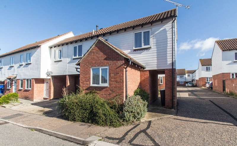 4 Bedrooms End Of Terrace House for sale in Benbow Drive, South Woodham Ferrers, Chelmsford, CM3