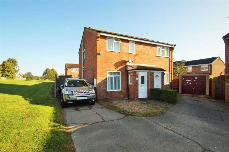 2 Bedrooms Semi Detached House for sale in Siskin Close, Longridge, Colchester
