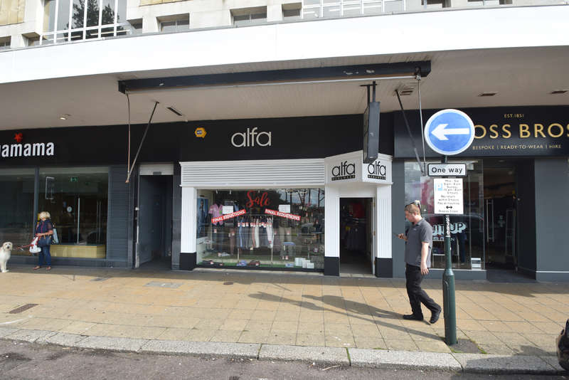Shop Commercial for rent in 33 Westover Road, Bournemouth, Dorset BH1 2BZ