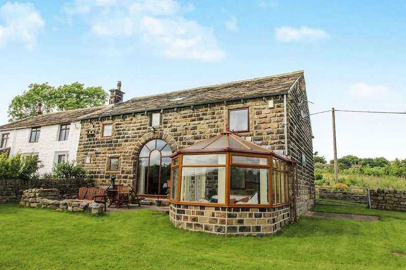 5 Bedrooms Semi Detached House for sale in White Windows Barn Blackshaw Head, Hebden Bridge, HX7
