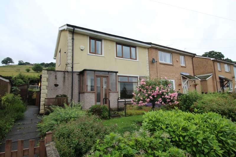 3 Bedrooms Semi Detached House for sale in Birchenlee Close, Mytholmroyd, Hebden Bridge, HX7