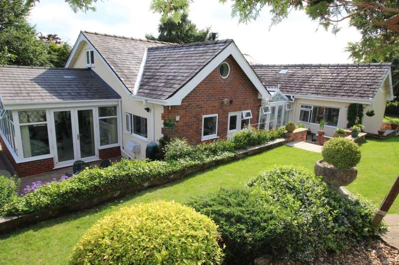 3 Bedrooms Detached Bungalow for sale in Holly Cottage Hill End Werneth Low Road, Romiley, Stockport, SK6