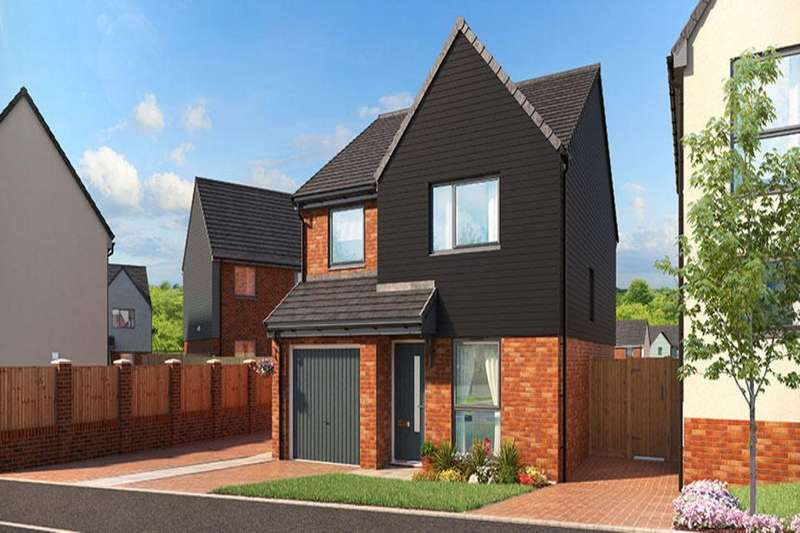 4 Bedrooms Detached House for sale in The Fir Eaves Lane, Stoke-On-Trent, ST2